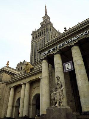 Kulturpalast, Blick von WSW