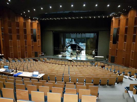 Grand Théâtre de la Ville de Luxembourg, Großer Saal, Blick zur Bühne