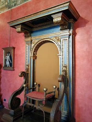 Perseus-Zimmer, einer der Privaträume von Papst Paul III.