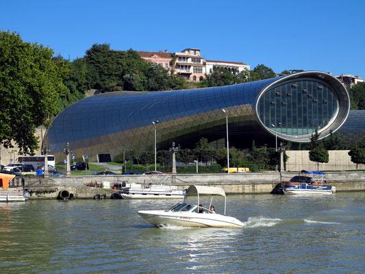Neues Konzerthaus/Ausstellungszentrum im Rike Park, 2016, Designer: Massimiliano & Doriana Fuksas (2018 noch nicht fertiggestellt)