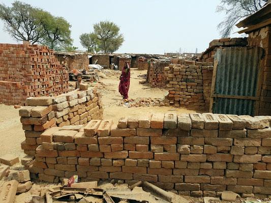 Wohnhäuser der Ziegelarbeiter