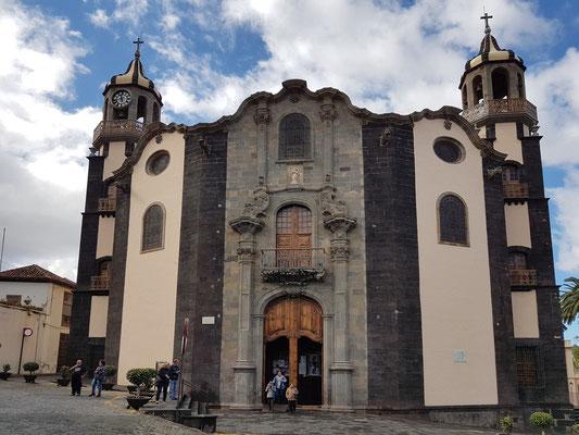 Kirche Nuestra Señora de la Concepción in La Orotava, Ostfassade