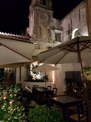 Abendstimmung in der Altstadt von Amalfi