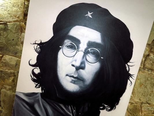 John Lennon, ein Werk von Lester Campa