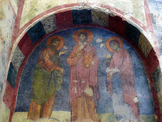 Geschichten aus Nikolaus' Leben, Fresko in der St.-Nikolaus-Kirche