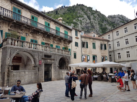 Pima-Palast in Kotor aus dem 17. Jh.
