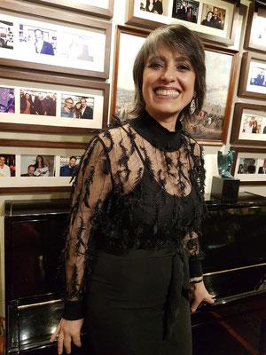 Fado-Sängerin Cristina Madeira am 10. 2. 2020 im Clube de Fado, Lissabon