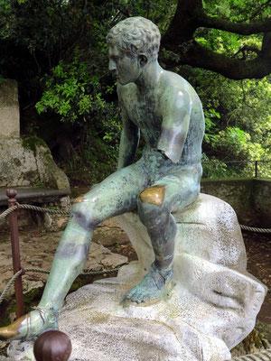 Mercury's Seat (Ruhender Hermes, Statue aus der Schule von Lisippo)