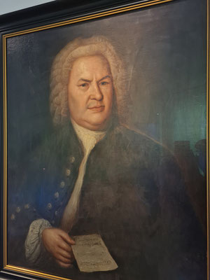 Das einzige Ölgemälde, für das Bach mit Sicherheit Modell saß, stammt von Elias Gottlob Haußmann von 1746