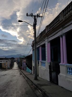 Calle Francisco Vicente Aguilera, Blick nach Westen
