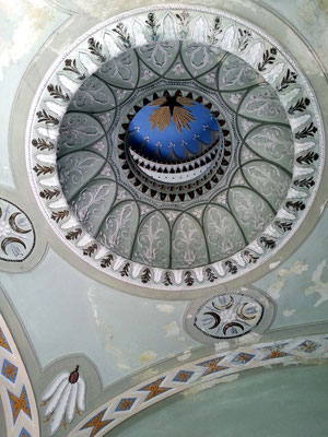Sternbild der kleinen Kuppel im Seitenraum