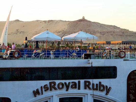 Nilkreuzfahrtschiff