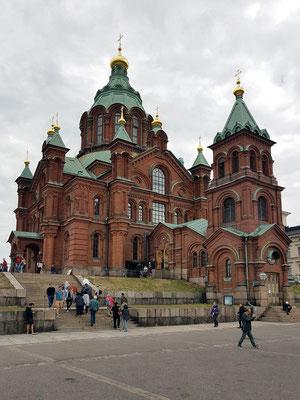 Uspenski-Kathedrale, 1868 geweiht, ist die größte orthodoxe Kirche im westlichen Europa