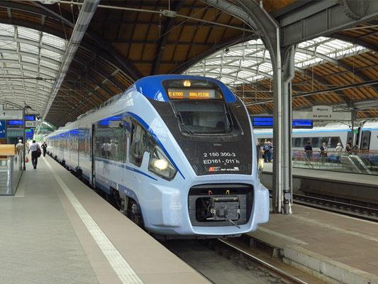 Regionalzug von Wroclaw nach Bialystok