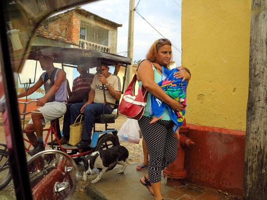 Fahrt durch Trinidad
