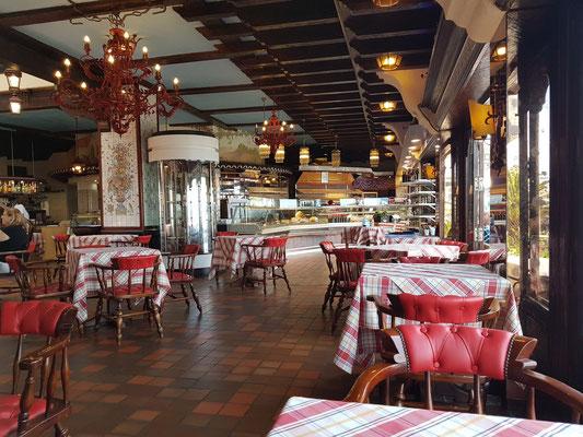 Innenraum des Cafés und Restaurants Rancho Grande, Calle San Telmo 10