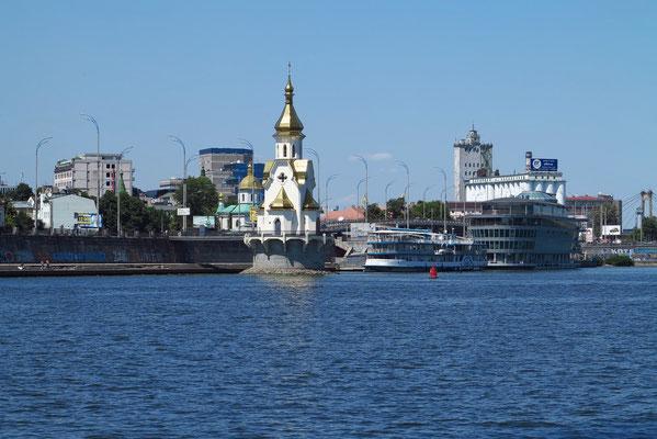 Dnepr, Kirche Nikolaus auf dem Wasser