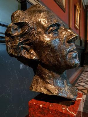 Auguste Rodin (1840-1917): Gustav Mahler, 1900, Bronze
