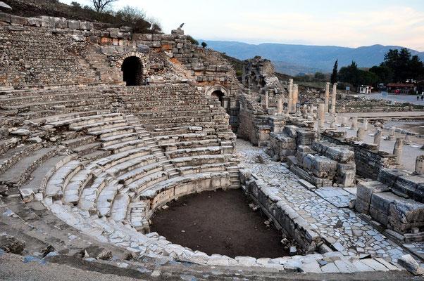 Bouleuterion für die Sitzungen der Boulea oder des Senats und Saal für Konzertaufführungen
