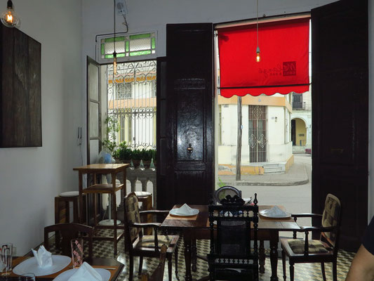 Camagüey, Restaurant melange