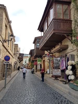 Straße in der Altstadt