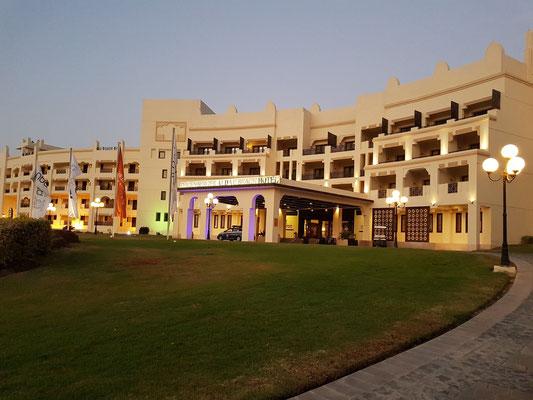 Steigenberger Al Dau Beach Hotel, Eingang