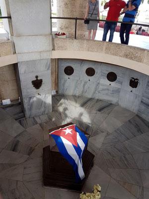 Grab von José Martí im Mausoleum