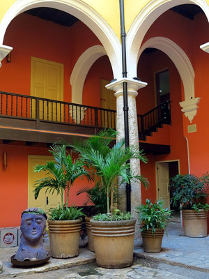 Patio im Havana Club Rum Museum