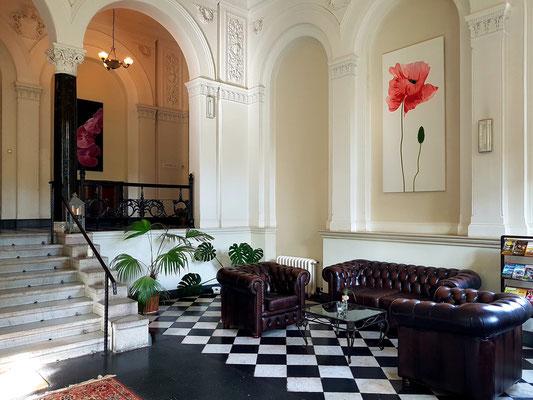 Hotel Schloss Neetzow, Eingangshalle