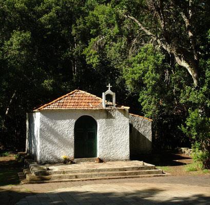 Ermita Nuestra Señora de Lourdes im Lorbeerwald El Cedro