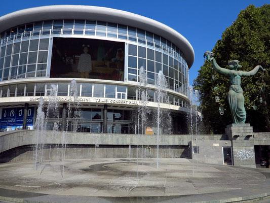 Tbilisi Concert Hall aus sowjetischer Zeit
