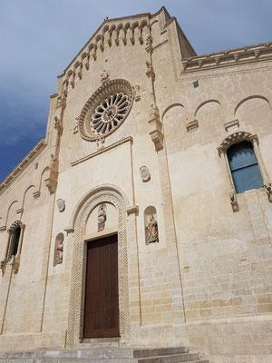 Westfassade der Kathedrale von Matera