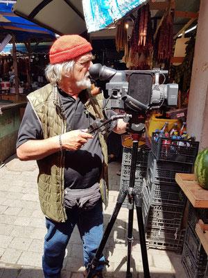 Albert Heyne, unser Kameramann auf der Rotel-Reise durch den Kaukasus