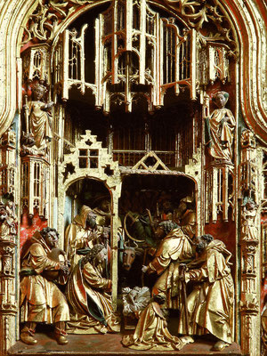Telde, Pfarrkirche San Juan Bautista, Christi Geburt