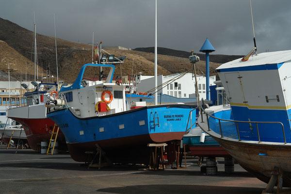 Fischerboote in Morro Jable