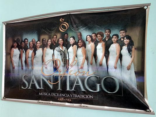 Plakat des Coro Orfeón Santiago