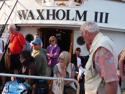 """Auf der """"Waxholm III"""", Ausflug in die Schärenlandschaft von Stockholm"""