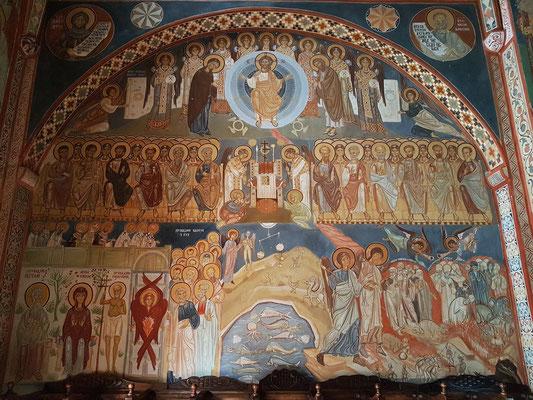Kloster Podmaine mit Fresken