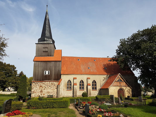 Kirche in Krien, 14. Jahrhundert