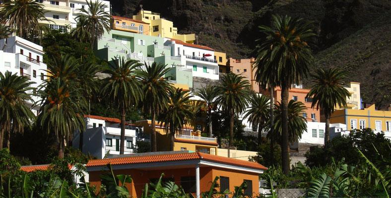 Teil der Ortschaft La Calera im Valle Gran Rey