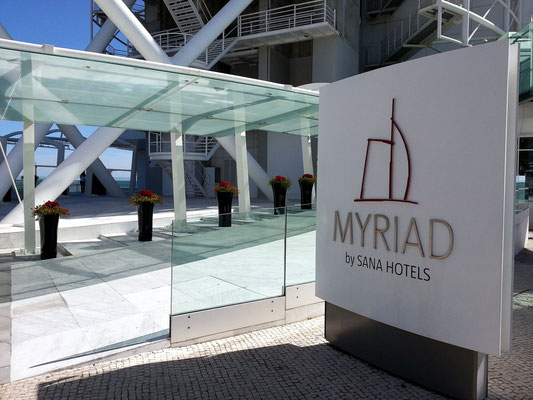 Hotel Myriad Lissabon, Eingang