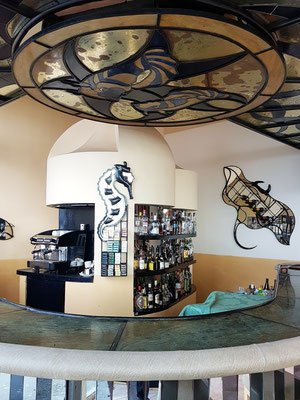 Lobby Bar im originalen Design der 1950er Jahre