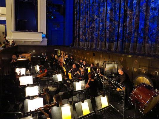 Stanislawski-Musiktheater, Orchestergraben (vor der Aufführung)