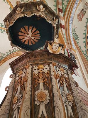 Kanzel der Johanneskirche
