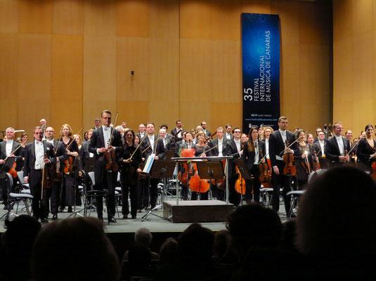 Applaus für das Philharmonische Staatsorchester Hamburg