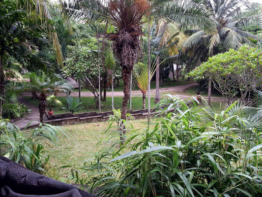 Zanzibar Beach Resort, Gartenanlage
