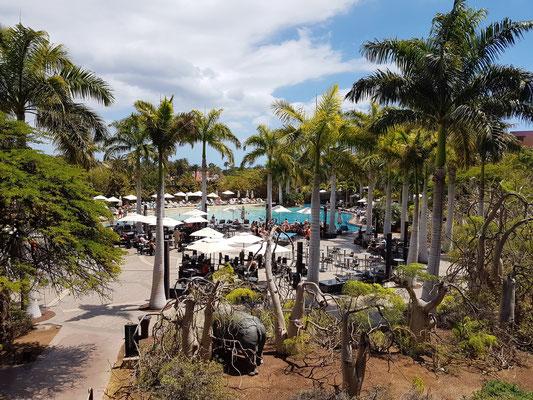 Lopesan Baobab Resort, Poollandschaft