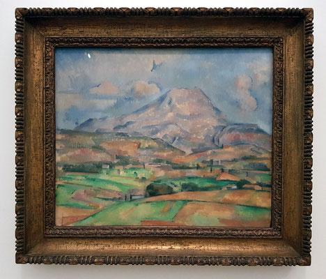 Paul Cézanne: La Montagne Sainte-Victoire, Öl auf Leinwand, ca. 1888