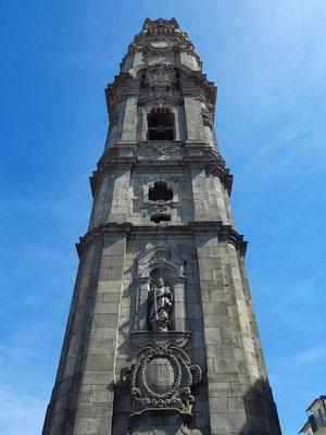 Torre dos Clérigos, 76 m hoher Glockenturm der Clérigos-Kirche, der bestiegen werden kann