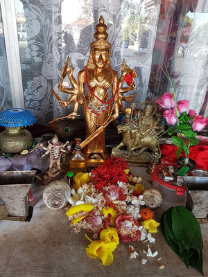 Im Hindu-Heiligtum